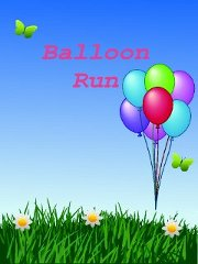 balloon run splash screen